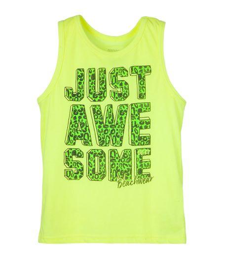 Camisetas-Ropa-nino-Amarillo-Neon