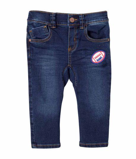 Jeans-y-Pantalones-Ropa-recien-nacido-nino-Indigo-Oscuro