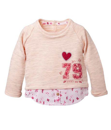 Camisetas-Ropa-recien-nacido-nina-Rosado