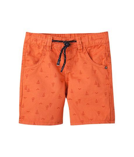 Bermudas-pantalonetas-Ropa-bebe-nino-Naranja