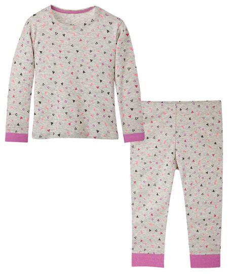 Pijamas-Ropa-bebe-nina-Gris-Jaspe