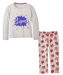 Pijamas-Ropa-nina-Gris-Jaspe