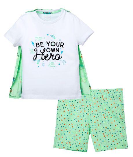 Pijamas-Ropa-bebe-nino-Blanco