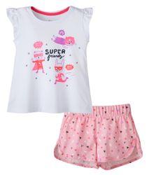 Pijamas-Ropa-bebe-nina-Blanco