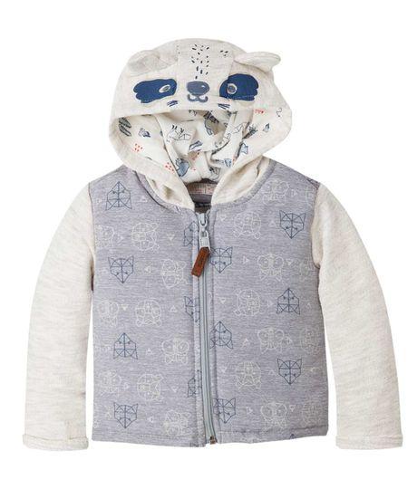 Buzos-y-chaquetas-Ropa-recien-nacido-nino-Gris-Jaspe