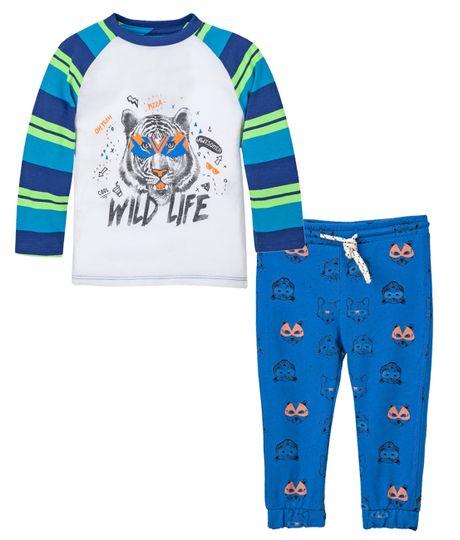 Pijamas-Ropa-bebe-nino-Azul