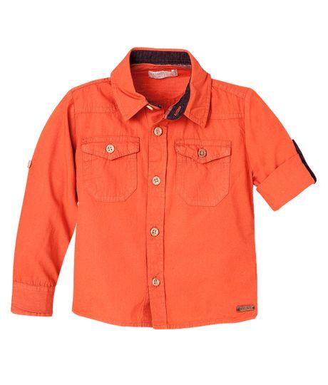 Camisas-Ropa-bebe-nino-Naranja