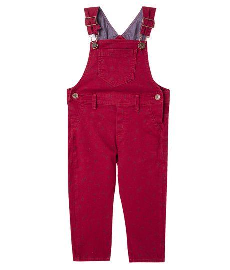 Overall-Ropa-bebe-nino-Rojo
