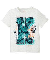 Camiseta-estampada-Ropa-bebe-nino-Gris