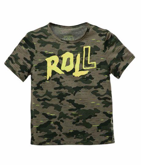 Camiseta-estampada-Ropa-bebe-nino-Verde