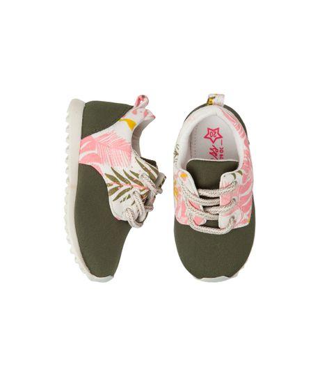 Zapatos-precaminadores-Ropa-recien-nacido-nina-Verde