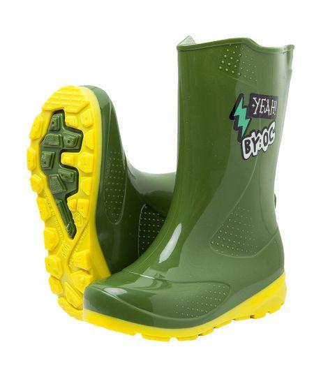 Botas-plasticas--Ropa-bebe-nino-Verde