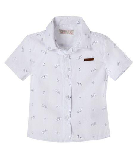 Camisa-Ropa-bebe-nino-Blanco