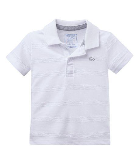 Camiseta-polo--Ropa-bebe-nino-Blanco