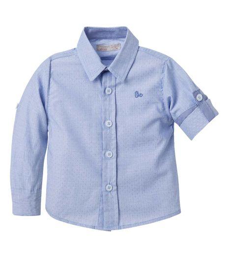 Camisa--Ropa-bebe-nino-Azul