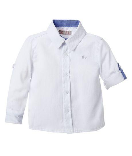 Camisa--Ropa-bebe-nino-Blanco