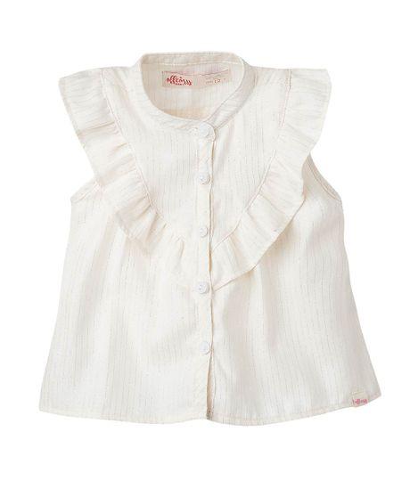 Camisa-Ropa-bebe-nina-Blanco