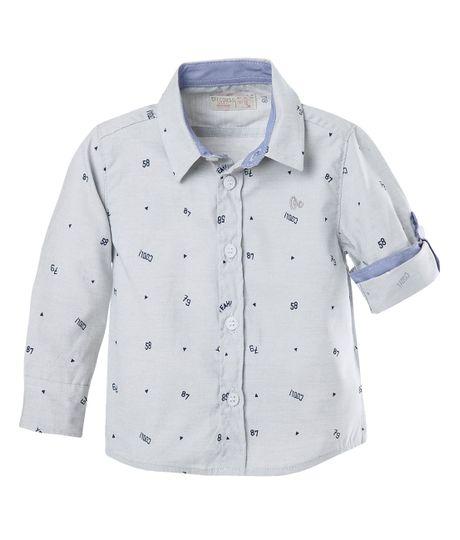 Camisa--Ropa-bebe-nino-Gris