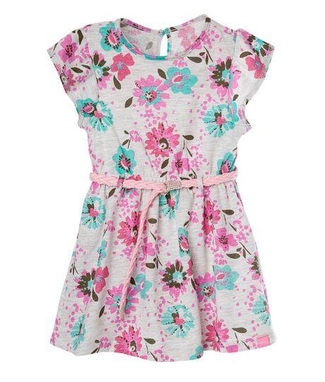 Vestido-Ropa-bebe-nina-Gris