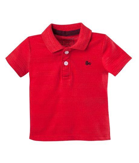 Camiseta-Ropa-bebe-nino-Rojo