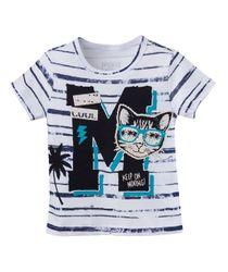 Camiseta-Ropa-bebe-nino-Blanco