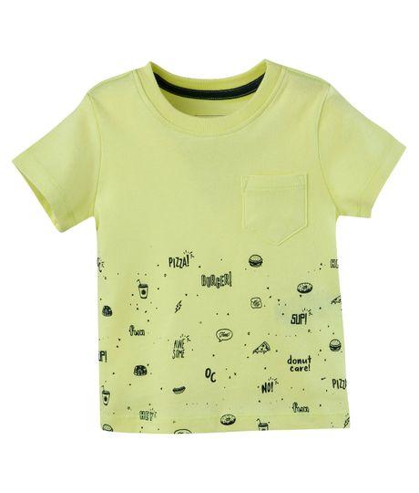 Camiseta-Ropa-bebe-nino-Verde