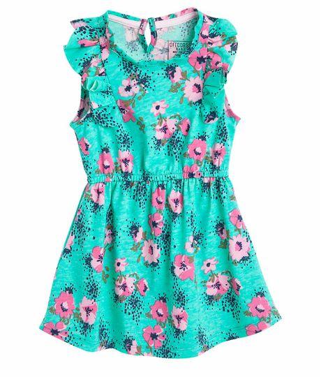 Vestido-Ropa-bebe-nina-Verde