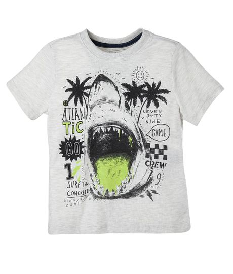 Camiseta-Ropa-nino-Gris