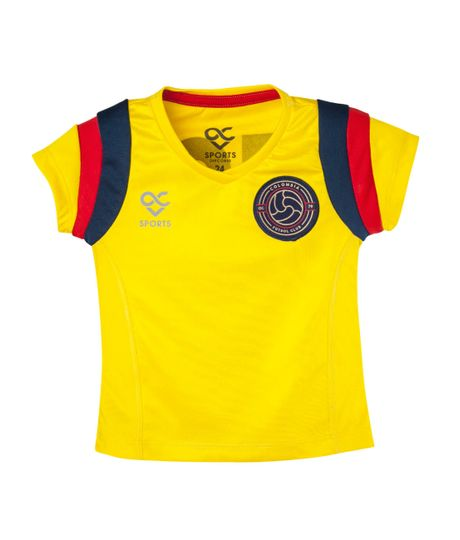 Camiseta-Ropa-bebe-nina-Amarillo