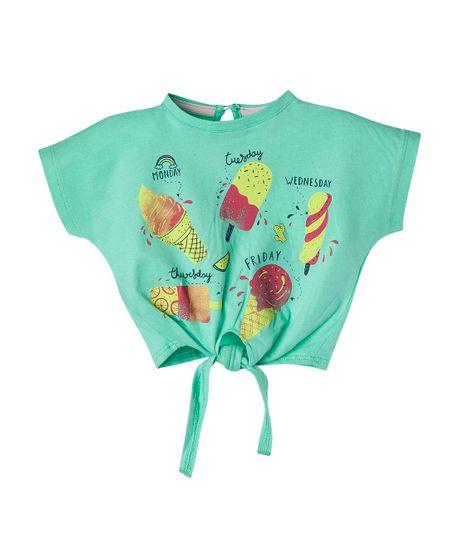 Camiseta-Ropa-bebe-nina-Verde