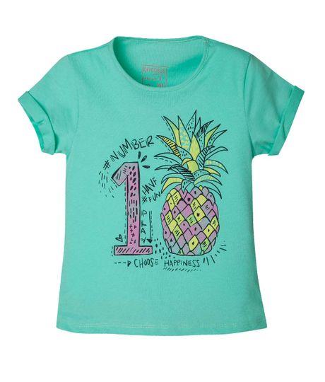 Camiseta-Ropa-nina-Verde