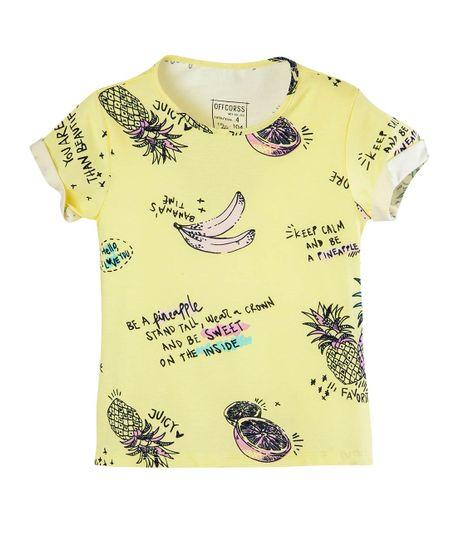 Camiseta-Ropa-nina-Amarillo