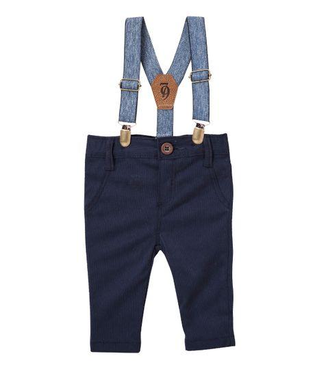 Pantalon-Ropa-recien-nacido-nino-Azul