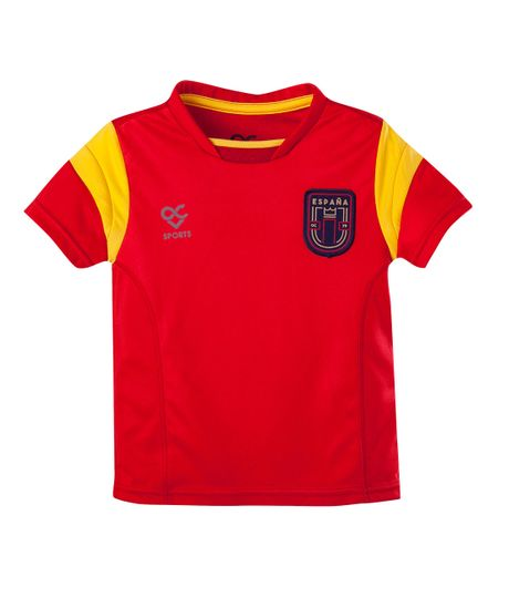 Camiseta-Ropa-nino-Rojo