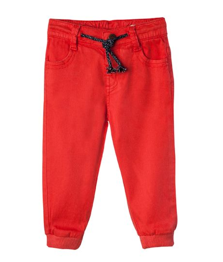 Jogger-Ropa-bebe-nino-Rojo