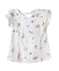 Camisa-Ropa-recien-nacido-nina-Blanco