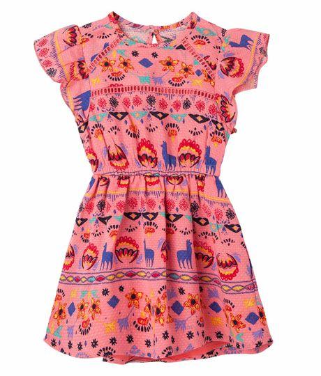 Vestido-Ropa-bebe-nina-Rosado
