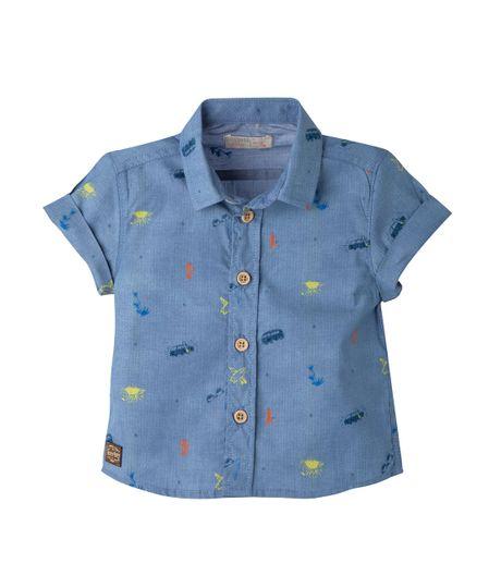 Camisa-Ropa-bebe-nino-Verde