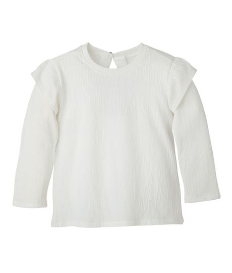 Camiseta-Ropa-recien-nacido-nina-Blanco