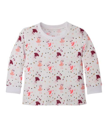 Camiseta-Ropa-recien-nacido-nina-Rojo