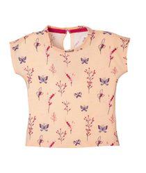 Camiseta-Ropa-bebe-nina-Rosado