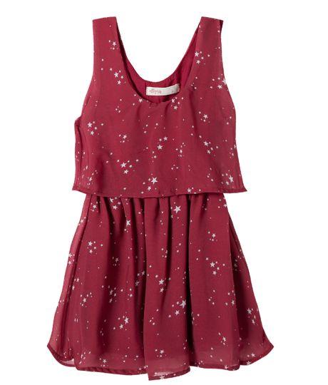 Vestido-Ropa-nina-Rojo