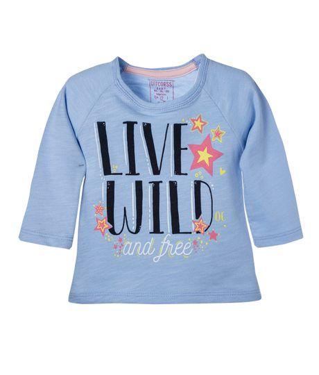 Camiseta-manga-larga-Ropa-bebe-nina-Azul