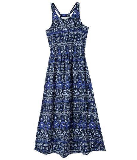 Vestido-largo-Ropa-nina-Azul