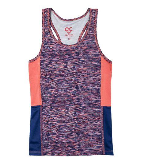 Camiseta-deportiva-Ropa-nina-Azul