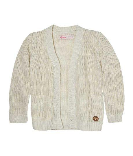 Cardigan-tejido-Ropa-bebe-nina-Amarillo
