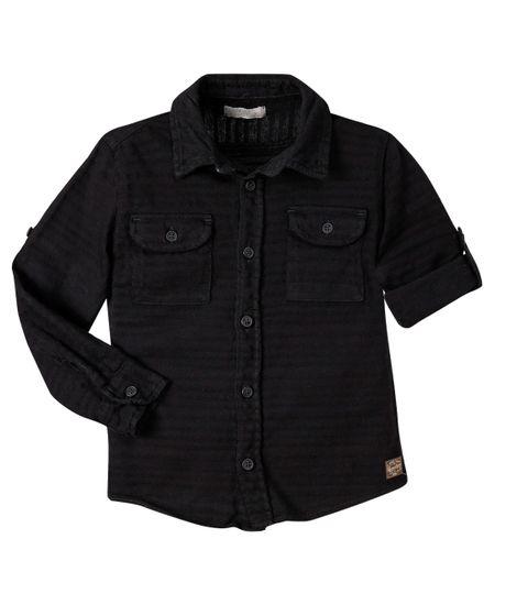 Camisa-manga-larga-Ropa-bebe-nino-Negro