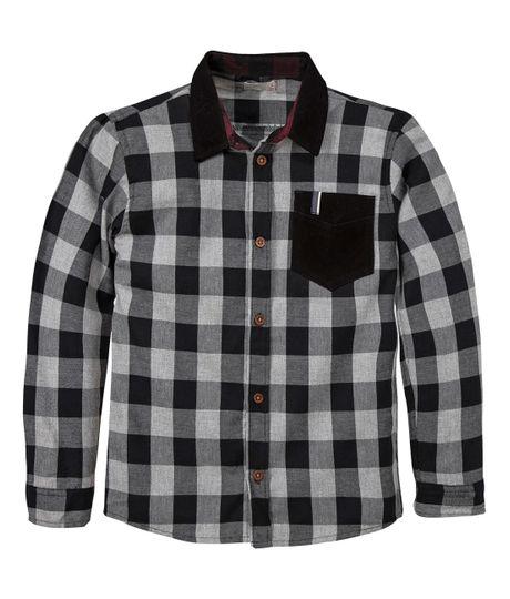 Camisa-manga-larga-Ropa-nino-Gris