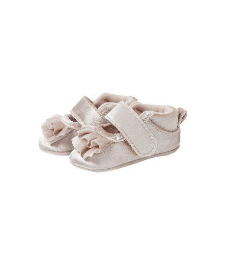 Zapatos-con-velcro-Ropa-recien-nacido-nina-Amarillo