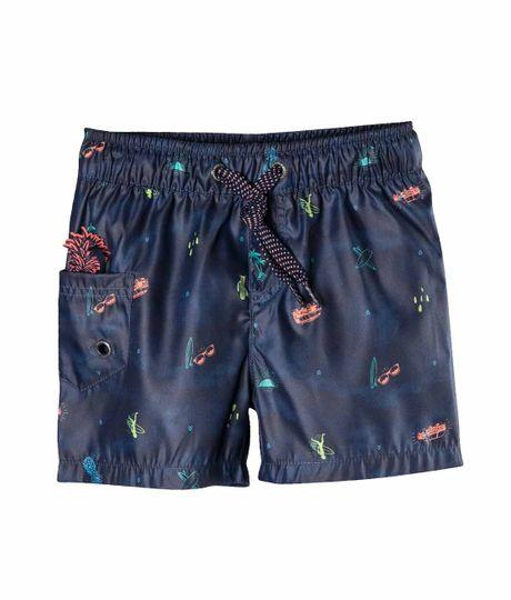 Pantaloneta-de-baño-Ropa-bebe-nino-Azul